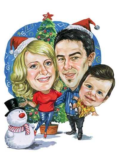 Christmas Caricatures Cartoonme Co Za