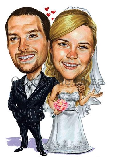 Wedding Caricatures Cartoonme Co Za