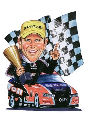 Racing-Caricature