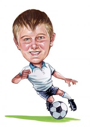 Soccer-Boy-Caricature
