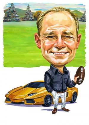 Sport-Car-Caricature