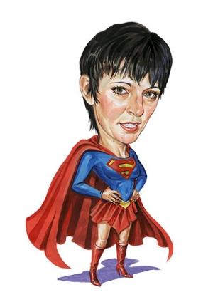 Super-Mom-Cadricature