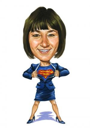 Super-Woman-Caricature