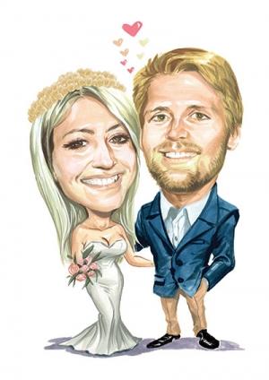 Wedding-Caricature